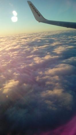 sequenza 2 in volo sulla Manica vista Lato Est