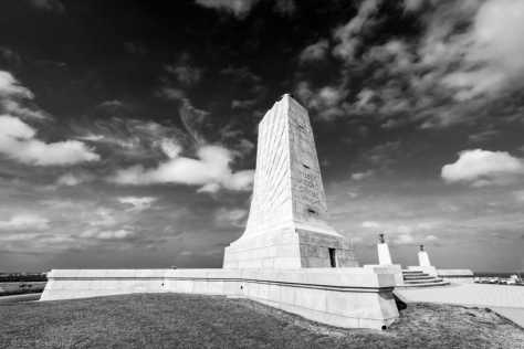 Wright Brothers National Memorial, Landscape Composition