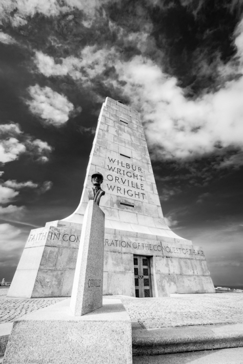 Wright Brothers National Memorial, Orville Composition
