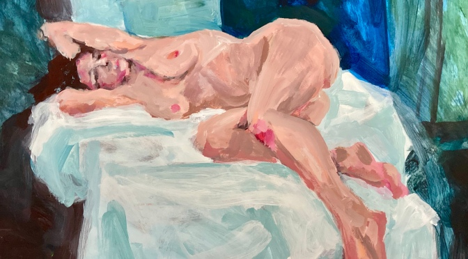 Colour  life drawing, Summer 2021